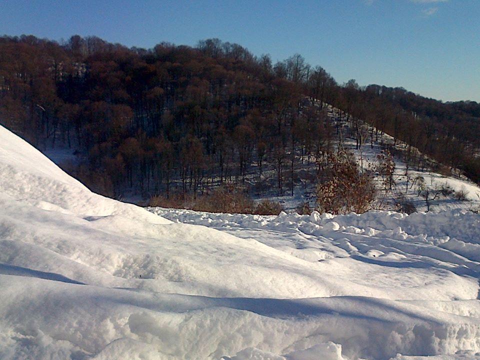 ANM: Cod galben de ninsori viscolite în zonele montane din 23 de județe, de marți seară