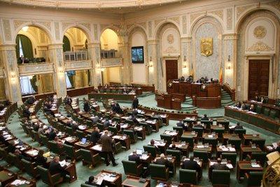 Senat: Moțiunea simplă pe Agricultură, respinsă