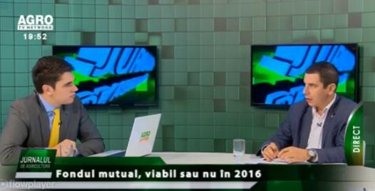 Emil Dumitru (Pro Agro): Am propus transformarea Fondului pentru Garantarea Creditului Rural în fond mutual
