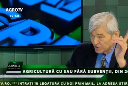 Valeriu Tabără (ex-MADR): În agenţiile de plată se pune problema calităţii oamenilor
