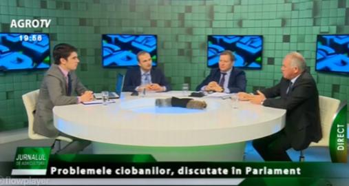 Laurenţiu Baciu (LAPAR): Aş vrea să nu fie eligibile pentru subvenţii oile care nu au unde păşuna