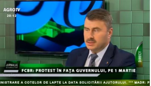 Daniel Botănoiu (MADR):Pe supărarea care este azi în sectorul agricol este uşor să iei oamenii şi să îi duci în stradă.
