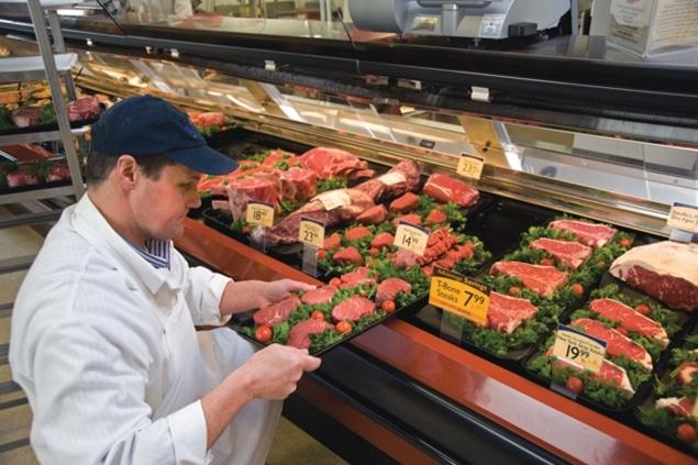 INSSE: Vânzările de alimente au crescut în ianuarie cu 26 %