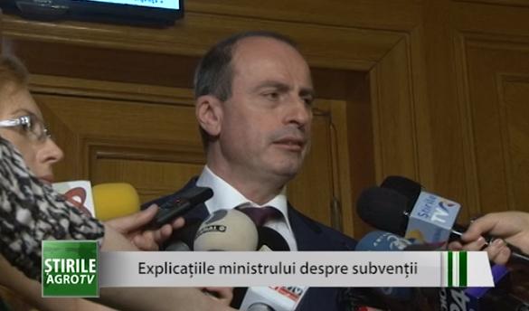 Achim Irimescu (MADR): Am crescut foarte mult subvenţiile