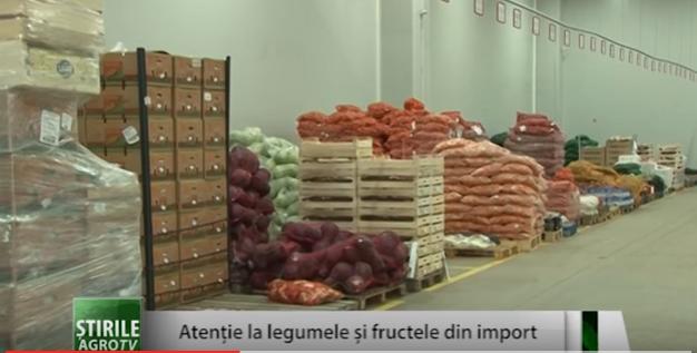 Atentie la fructele si legumele din import !