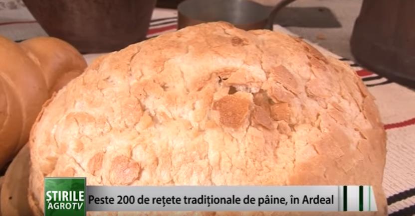 Peste 200 de rețete tradiționale de pâine, în Ardeal