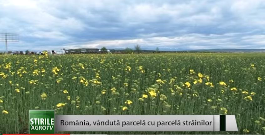 România, vândută parcelă cu parcelă străinilor
