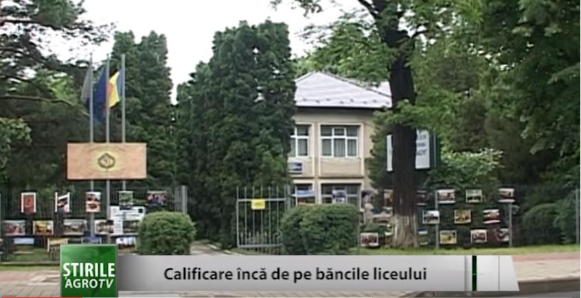 Iaşi: Calificare de pe băncile liceului