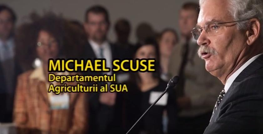 Eveniment în exclusivitate: Michael Scuse, la AGRO TV