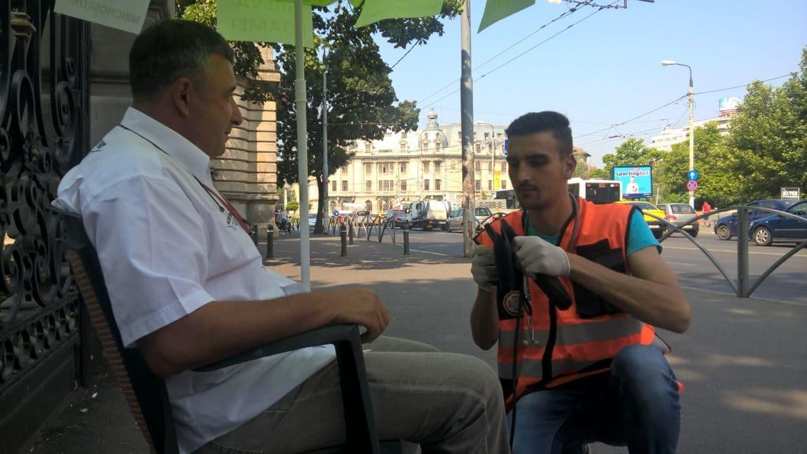 VIDEO Cum arată zootehniștii după două zile de greva foamei