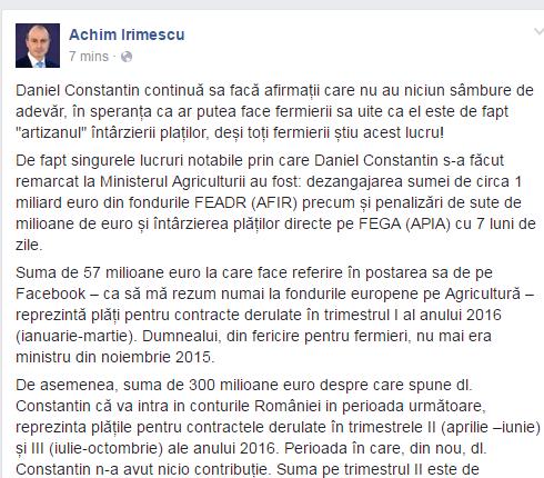 Divergergenţele miniştrilor se mută pe Facebook