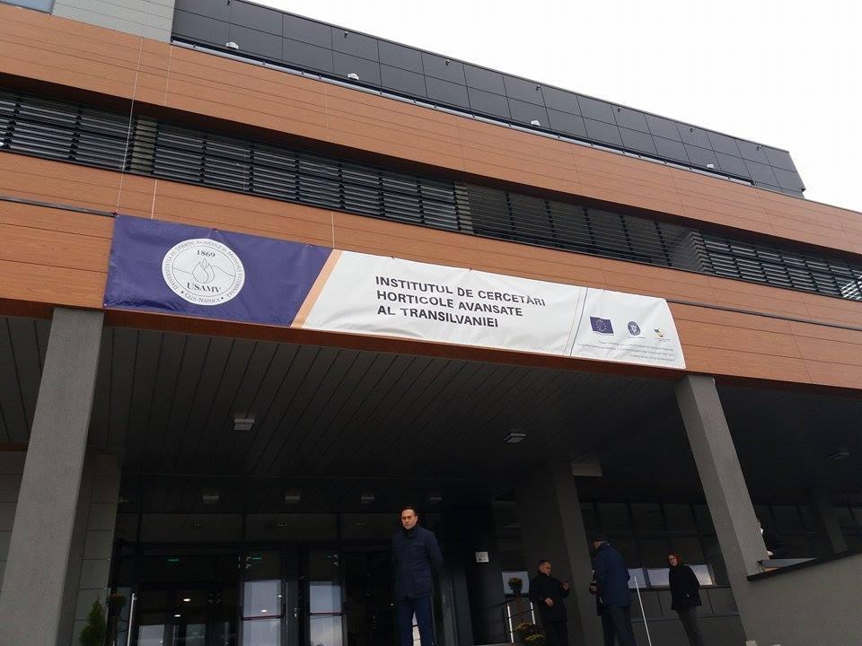 Un institut ultramodern de cercetrari horticole, inaugurat la USAMV Cluj