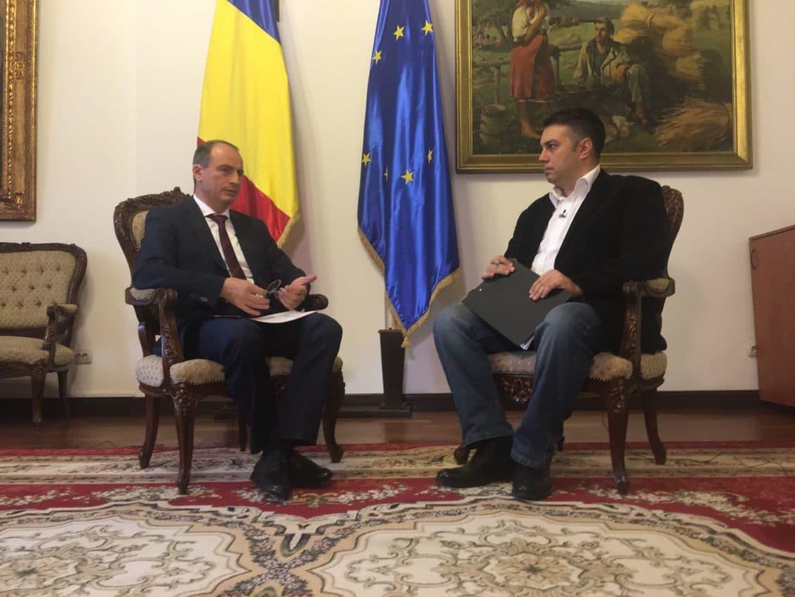 Achim Irimescu isi face raportul in fata telespectatorilor Agro TV