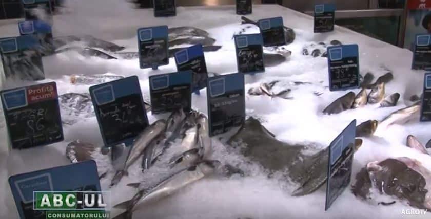 ABC-UL CONSUMATORULUI – Peştele şi preparatele din peşte